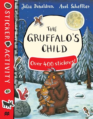 Book cover for The Gruffalo's Child Sticker Book